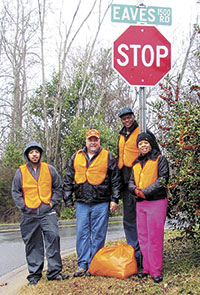 Over 350 Pounds Of Litter Picked Up By Keep Shelby Beautiful Volunteers!