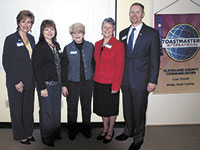 Cleveland County Communicators 2nd Anniversary Of Toastmasters Club