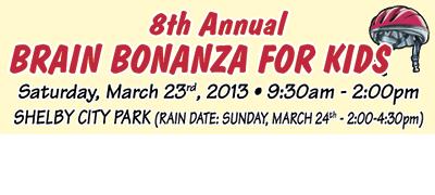8TH ANNUAL BRAIN BONANZA FOR KIDS!