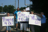 Five Miles Of Wellwishers