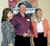 Cleveland County Communicators  Present Toastmaster Awards