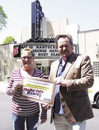 Janice Lancaster Wins Shelby Info Radio Concert Tickets
