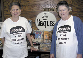 """Cleveland County Memorial Library Celebrates """"Beatles Day"""""""