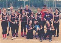 Lady Bandits, 2013 Spring Nationals Runner Up