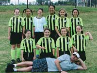GREATER CLEVELAND COUNTY  SOCCER ASSOCIATION DIVISION CHAMPS