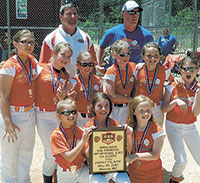 Carolina Crossfire Team Wins 10U Championship