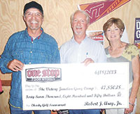 Local Business Makes Donation To Victory Junction Gang Camp