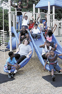Goforth Playground Dream Becomes A Reality