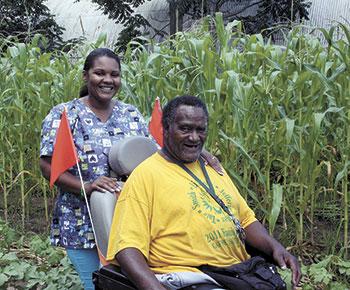 From His Wheelchair, Melvin's Garden Feeds The Needy