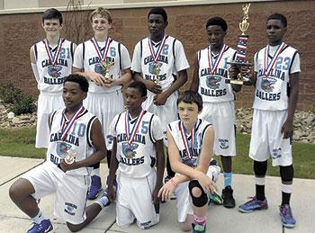Carolina Ballers 7th Grade Team Wins AYBA National Championship DII Tournament