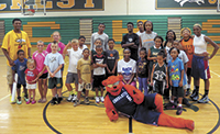 Boiling Springs Booster Basketball Skills Camp at Crest High School