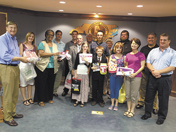 Clev. Co. Republican Party Holds Baby Shower For Pregnancy Resource Center