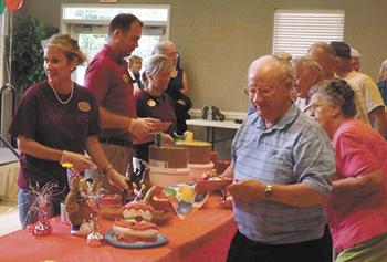 Neal Senior Center Birthday Party Celebration