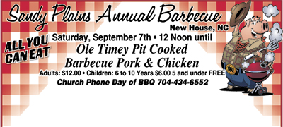 Sandy Plains Annual Barbecue