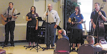 HINKLE FAMILY PERFORMS...