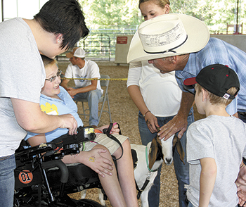 NORTH SHELBY LIVESTOCK SHOW GOES ON IN MEMORY OF PHYLLIS ELMORE