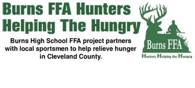 Burns FFA Hunters Helping Hungry