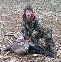 Jacob Carter get first deer