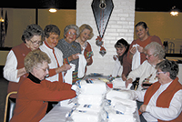 VFW Post 4066 Ladies Auxiliary Gives Gifts To Vets