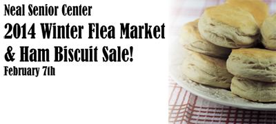 2014 Winter Flea Market and Ham Biscuit Sale!