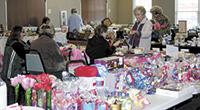 Scenes from the Senior Center Winter Flea Market