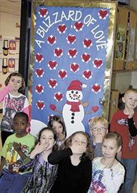 Jefferson School Celebrates Valentine's