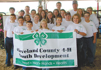 YOUTH COMPLETE 4-H DAIRY STEER PROJECT
