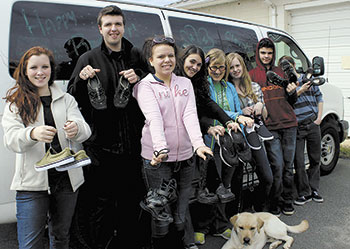 Shoe Drive To Benefit 4-H, Developing Nations And The Environment