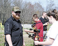 Local business aims at teaching archery to students