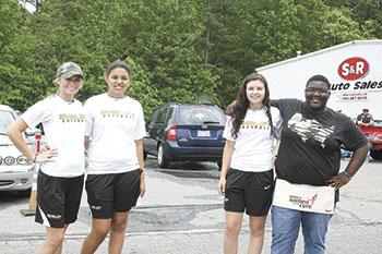 Shelby High Girls Softball Fundraiser Held