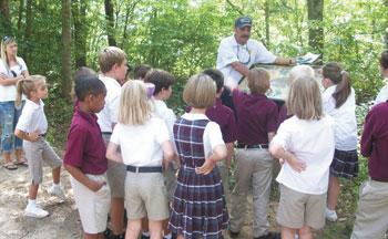 Botany Lesson At Broad River