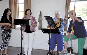 The Chicks Band entertain at Belwood Days