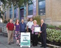 September 2010 Commercial Appearance Award