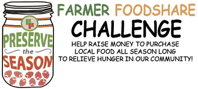 Farmer Foodshare® Challenge aims to raise funds to purchase food throughout season