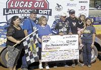 $10,000 Cherokee Motor Speedway Winner