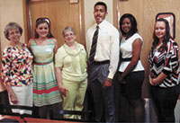Scholarship Recipients Honored