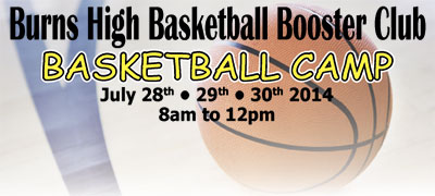 Burns High Basketabll Camp