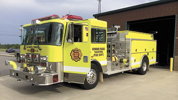 Number Three Volunteer Fire Department Receives New Rating After Inspection