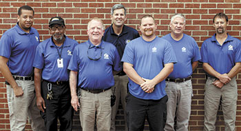 Cleveland Community College Maintenance Staff Completes Training