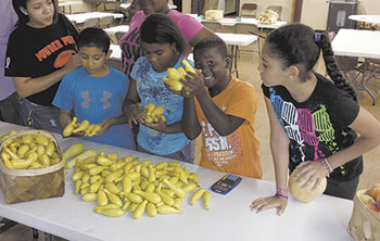 Community Math Academy Students Improve Skills Learn About Local Food