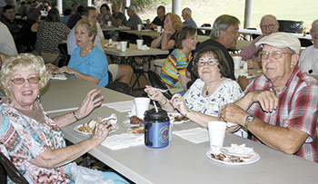Sandy Plains Baptist Church Serves Up Tasty BBQ