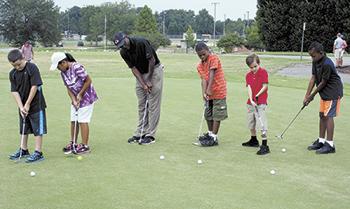 New Junior Golf Program at Shelby City Park