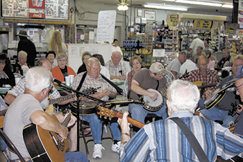Pickin' and Grinnin' in Polkville!