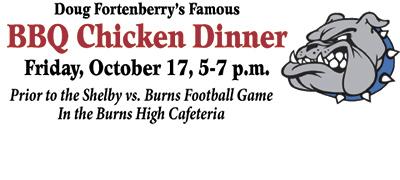 BBQ Chicken Dinner to benefit Burns High Soccer