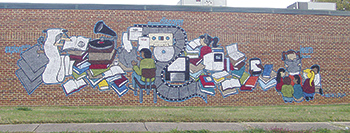 Mural Unveiled At Cleveland County Memorial Library