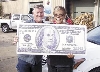 Bernell Wilson wins Shelby Shopper & Info Football Contest!