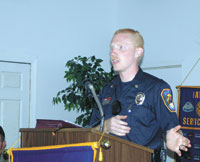 Exchange Club Firefighter Of The Year