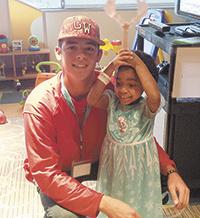 GWU Baseball team visits children fighting cancer