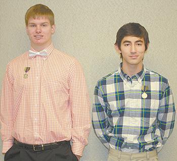 High School Oratorical contest winners