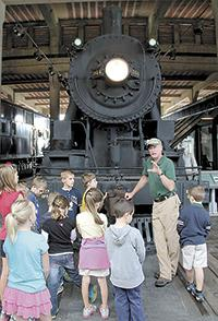 NC Transportation Museum Offers School's Out Day Camp